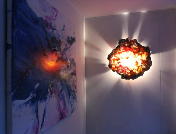 Cozy and Romantic Atmosphere from Light Sculpture