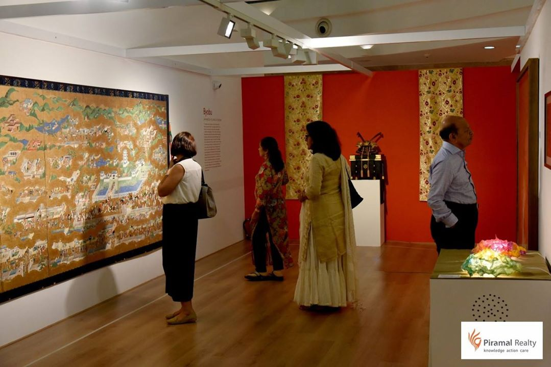Japanese Exhibition in Piramal Art Museum in Mumbai in India